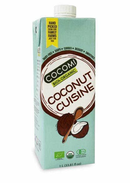 COCONUT MILK - NAPÓJ KOKOSOWY (17% TŁUSZCZU) BIO 1 L - COCOMI