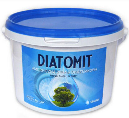 ZIEMIA OKRZEMKOWA AMORFICZNA (DIATOMIT) 1 kg (WIADERKO) - PERMA-GUARD