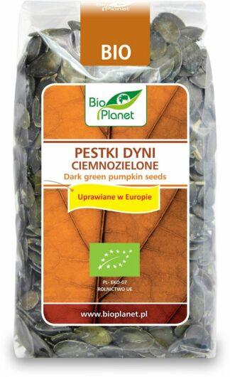 PESTKI DYNI CIEMNOZIELONE (UPRAWIANE W EUROPIE) BIO 350 g - BIO PLANET