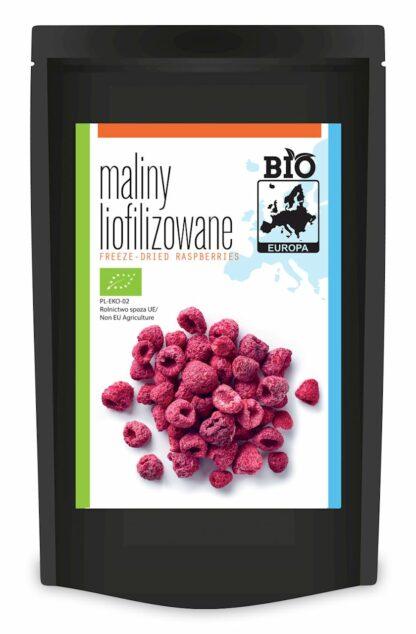 MALINY LIOFILIZOWANE BIO 30 g - BIO EUROPA