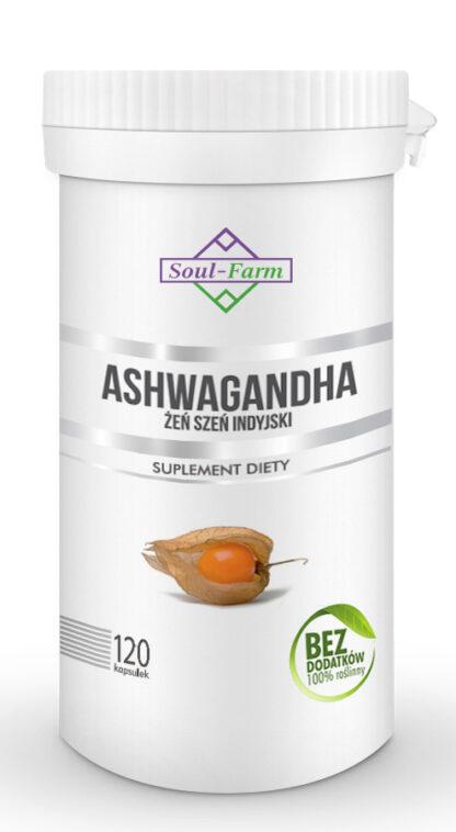 ASHWAGANDHA EKSTRAKT 500 mg 120 KAPSUŁEK - SOUL FARM