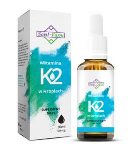WITAMINA K2 W KROPLACH (100mcg) 30 ml - SOUL FARM