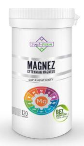 CYTRYNIAN MAGNEZU (650 mg) 120 KAPSUŁEK - SOUL FARM