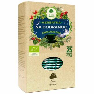 HERBATKA NA DOBRANOC BIO (25 x 2 g) - DARY NATURY