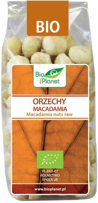 ORZECHY MACADAMIA BIO 200 g - BIO PLANET