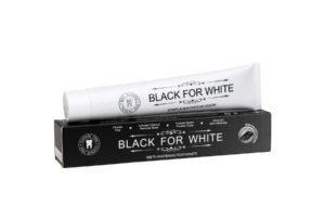 PASTA DO ZĘBÓW WYBIELAJĄCA Z WĘGLEM AKTYWNYM 75 ml - BLACK FOR WHITE