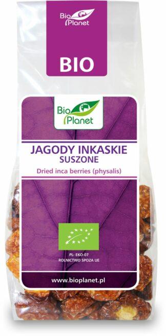 JAGODY INKASKIE SUSZONE BIO 100 g - BIO PLANET