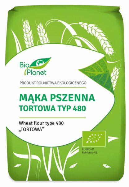 MĄKA PSZENNA TORTOWA TYP 480 BIO 1 kg - BIO PLANET