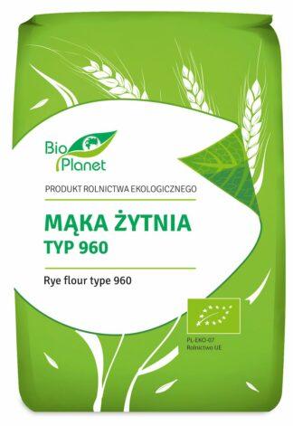 MĄKA ŻYTNIA TYP 960 BIO 1 kg - BIO PLANET
