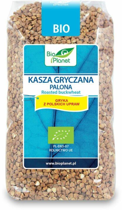 KASZA GRYCZANA PALONA BIO 500 g - BIO PLANET