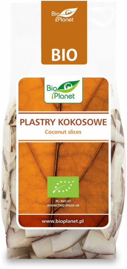 PLASTRY KOKOSOWE BIO 100 g - BIO PLANET