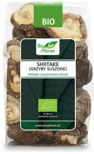 SHIITAKE (GRZYBY SUSZONE) BIO 50 g - BIO PLANET