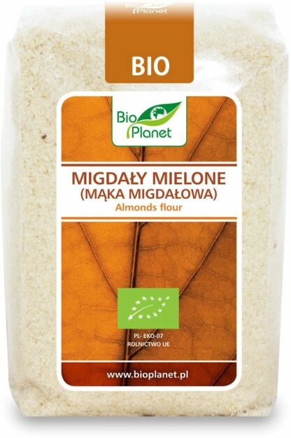 MIGDAŁY MIELONE (MĄKA MIGDAŁOWA) BIO 250 g - BIO PLANET
