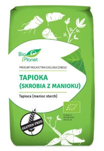 TAPIOKA (SKROBIA Z MANIOKU) BEZGLUTENOWA BIO 400 g - BIO PLANET