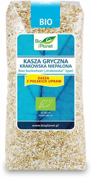 KASZA GRYCZANA KRAKOWSKA NIEPALONA BIO 500 g - BIO PLANET