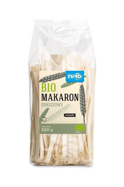 MAKARON (ORKISZOWY) WSTĄŻKI BIO 250 g - NIRO