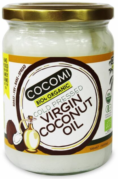 OLEJ KOKOSOWY VIRGIN BIO 500 ml - COCOMI