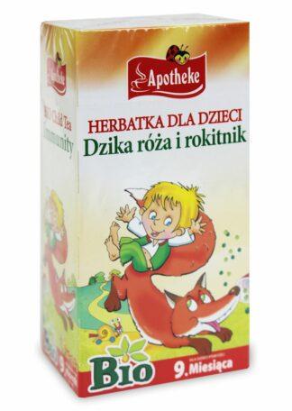 HERBATKA DLA DZIECI - DZIKA RÓŻA I ROKITNIK BIO 20 x 1